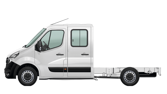 Opel Movano Chassis Cabine Dupla